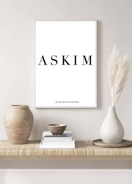 Bilde av ASKIM POSTER