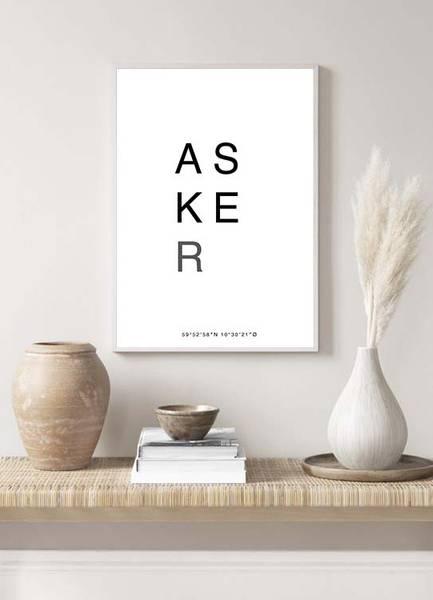 Bilde av ASKER POSTER