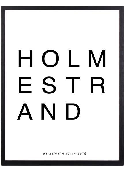 Bilde av HOLMESTRAND POSTER