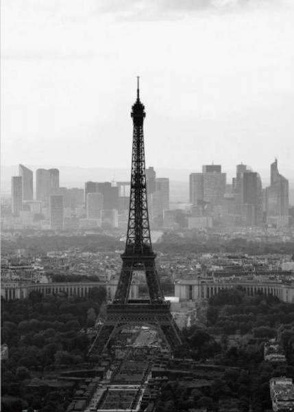 Bilde av PARIS B&W POSTER