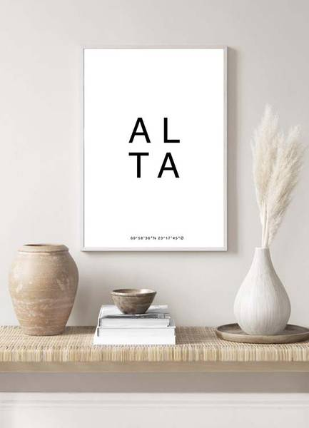 Bilde av ALTA POSTER