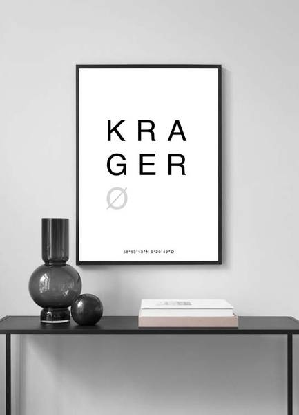 Bilde av KRAGERØ POSTER