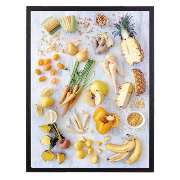 Bilde av YELLOW FOOD POSTER