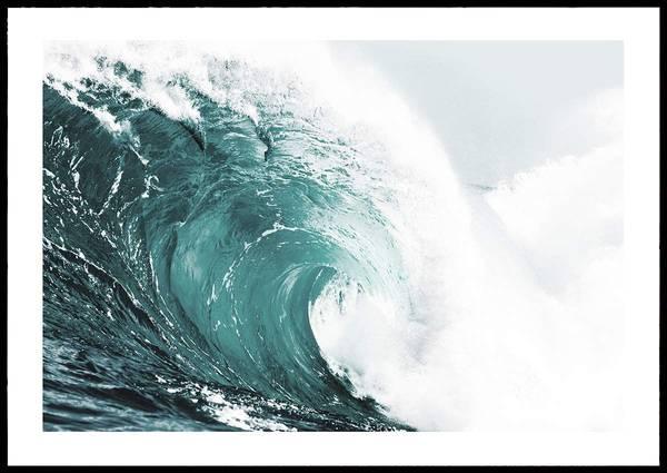 Bilde av GREEN WAVE PLAKAT