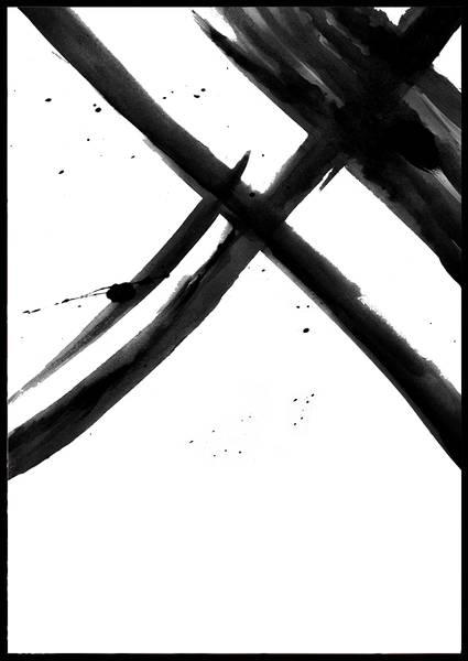Bilde av Black paint no 1 plakat