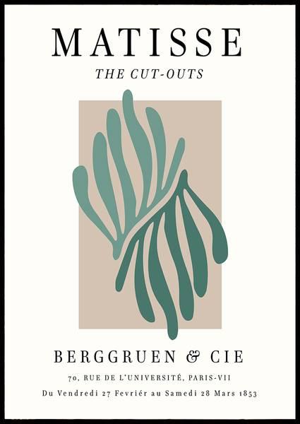 Bilde av Matisse the Cut-outs green