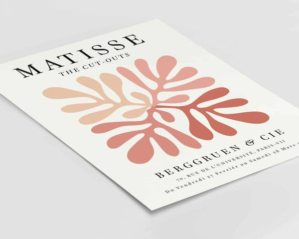Bilde av Matisse the Cut-outs red