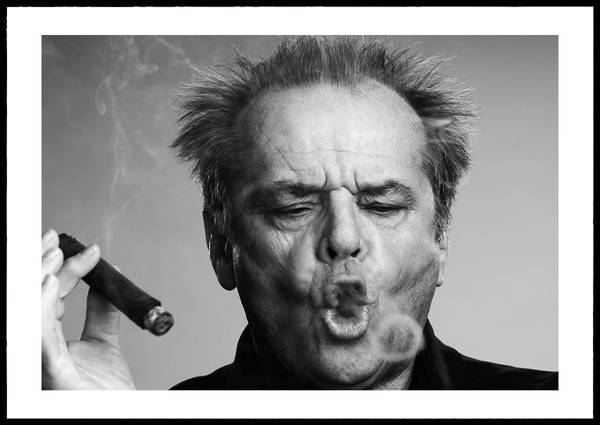 Bilde av Jack Nicholson ikonisk plakat
