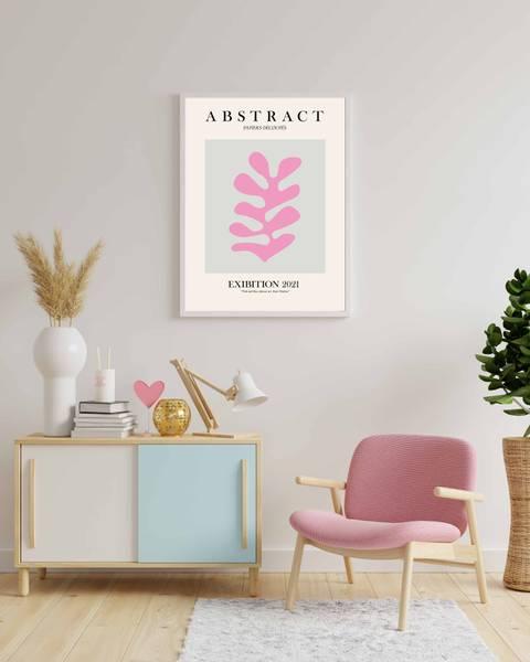 Bilde av Matisse pink and blue plakat