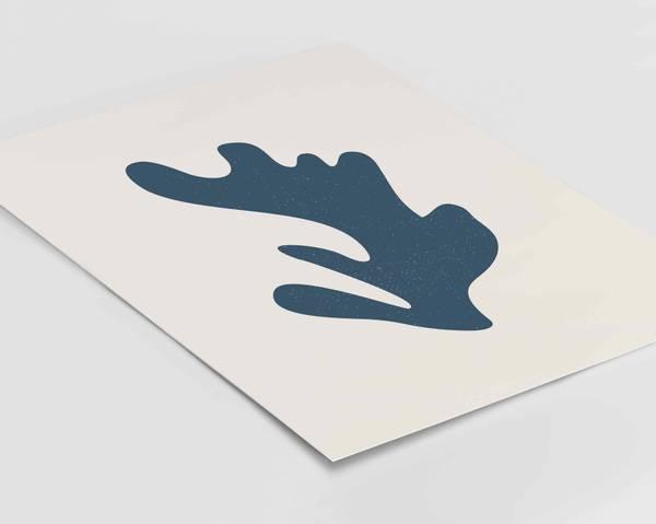 Bilde av Matisse blå plakat