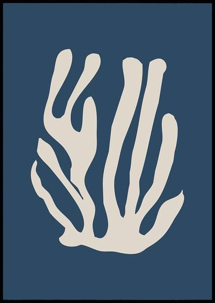 Bilde av Matisse blå no 2 plakat