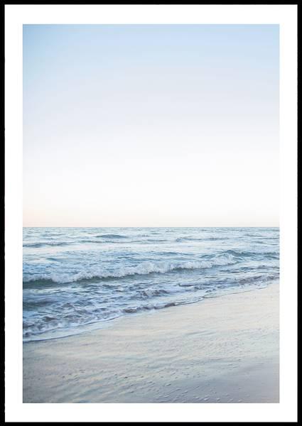 Bilde av PASTEL OCEAN PLAKAT