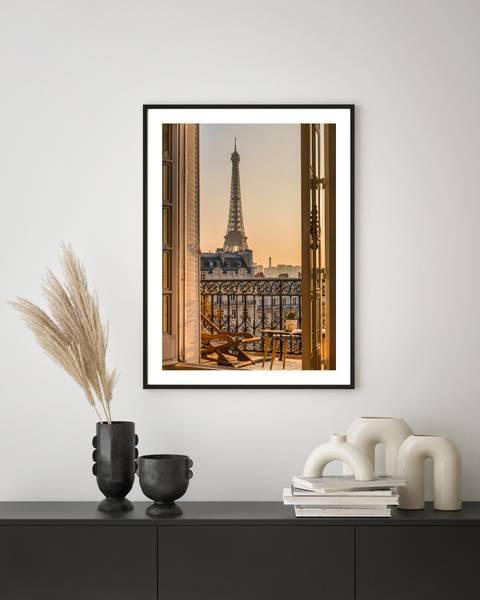 Bilde av Paris sunrise plakat