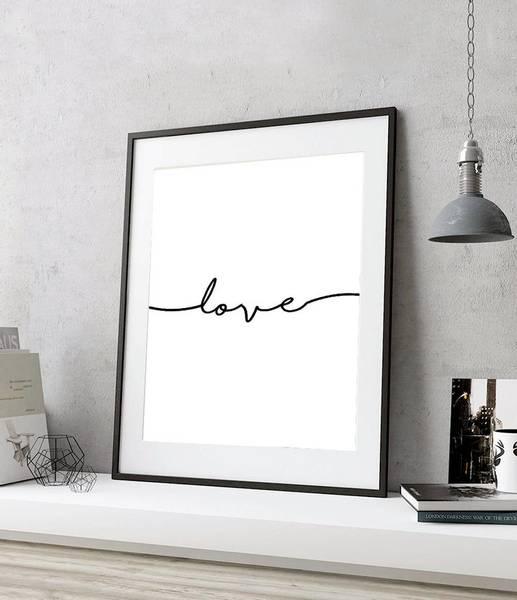 Bilde av ROMANTIC LOVE POSTER