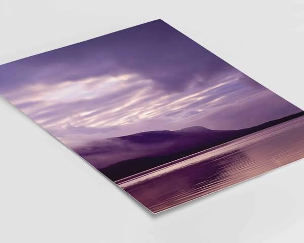 Bilde av Horizon lilla plakat