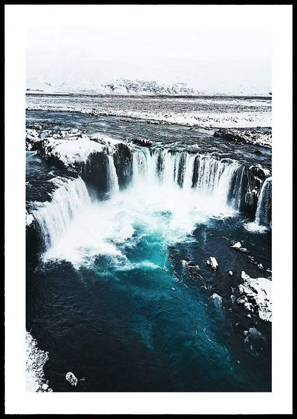 Bilde av ICE BLUE SEA PLAKAT