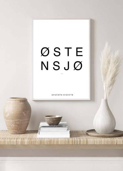Bilde av ØSTENSJO OSLO POSTER