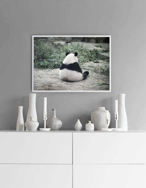 Bilde av PANDA CHILLING POSTER