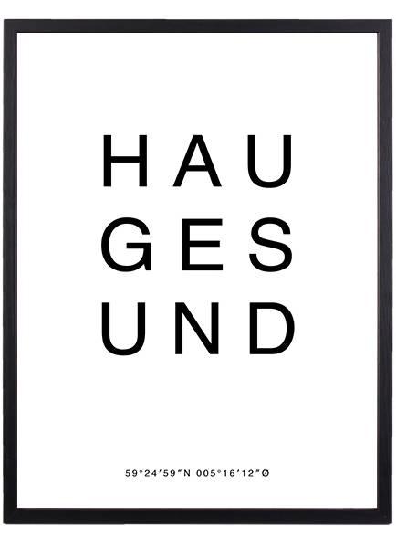 Bilde av HAUGESUND POSTER
