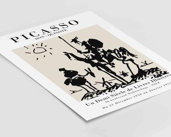 Bilde av Picasso Don-Quixote plakat
