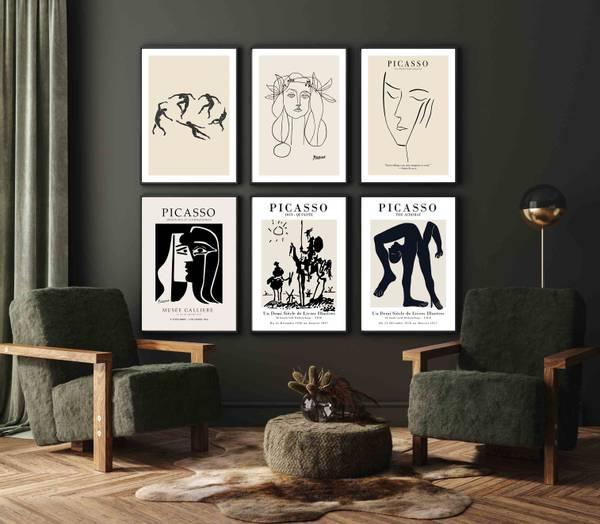 Bilde av Picasso the Acrobat plakat