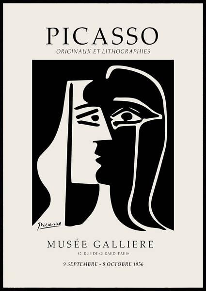 Bilde av Picasso Lithographies plakat