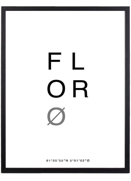 Bilde av FLORØ POSTER