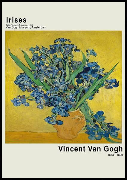 Bilde av Van Gogh Irises plakat