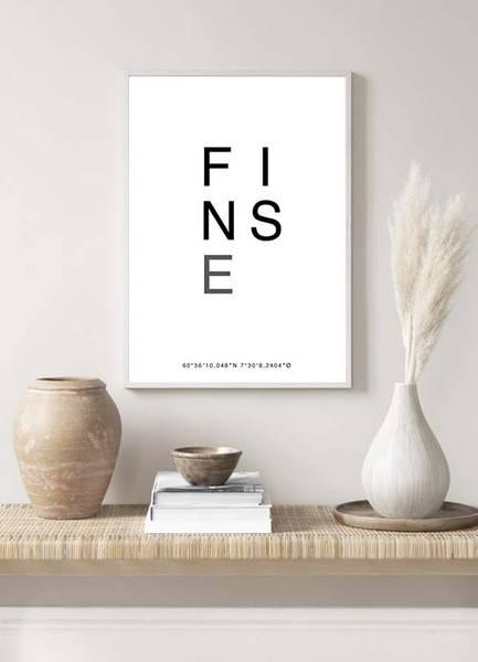Bilde av FINSE POSTER