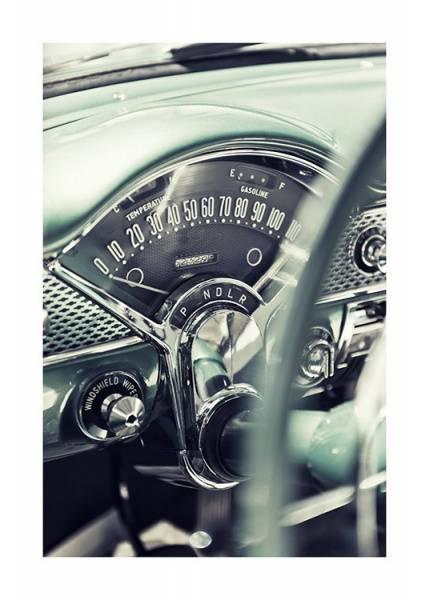 Bilde av AMERICAN VINTAGE CAR POSTER