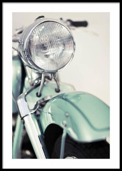 Bilde av RETRO MOTORCYCLE POSTER