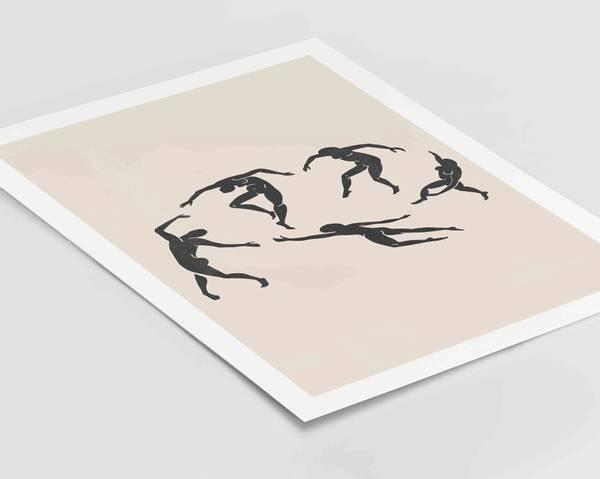 Bilde av Henri Matisse the Dance plakat