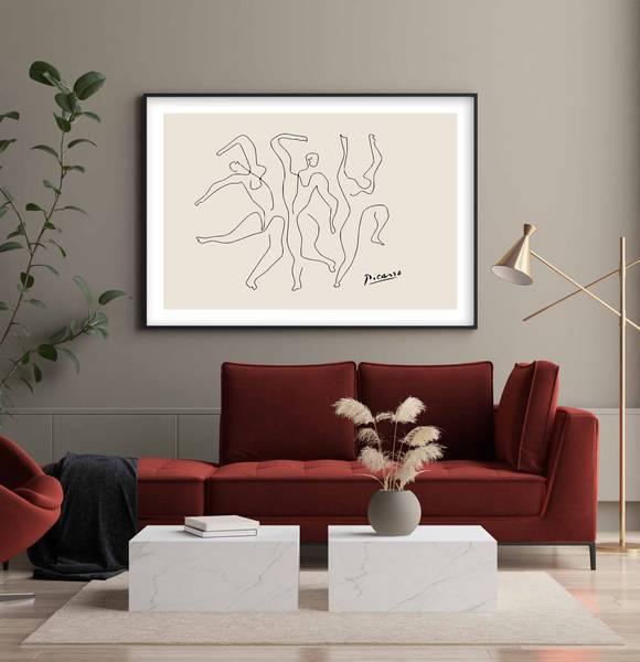 Bilde av Picasso the dance no 2 plakat