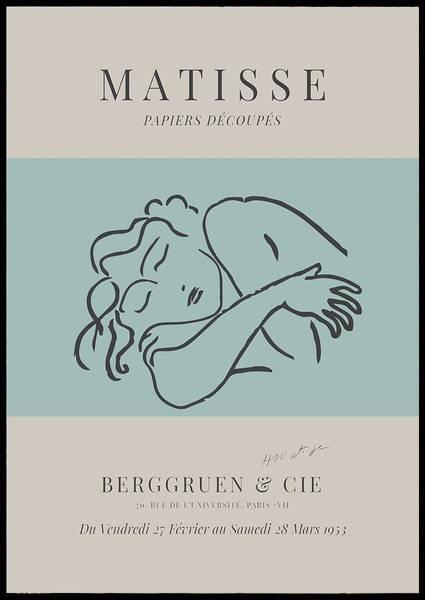Bilde av Matisse Papiers Découpes no 6 plakat