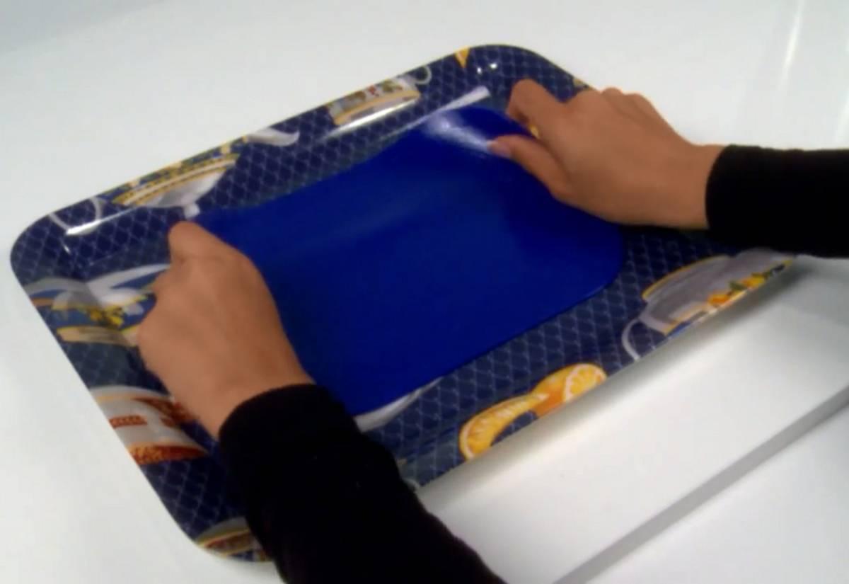 VB Sklikke 35x25cm blå