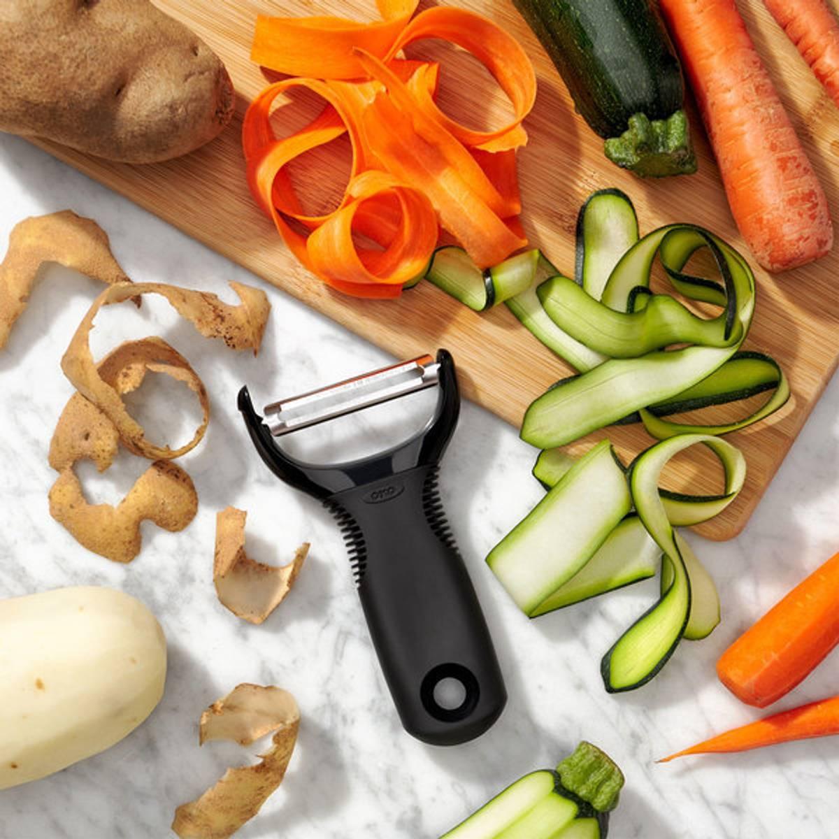 Grønnsaksskreller med godt grep