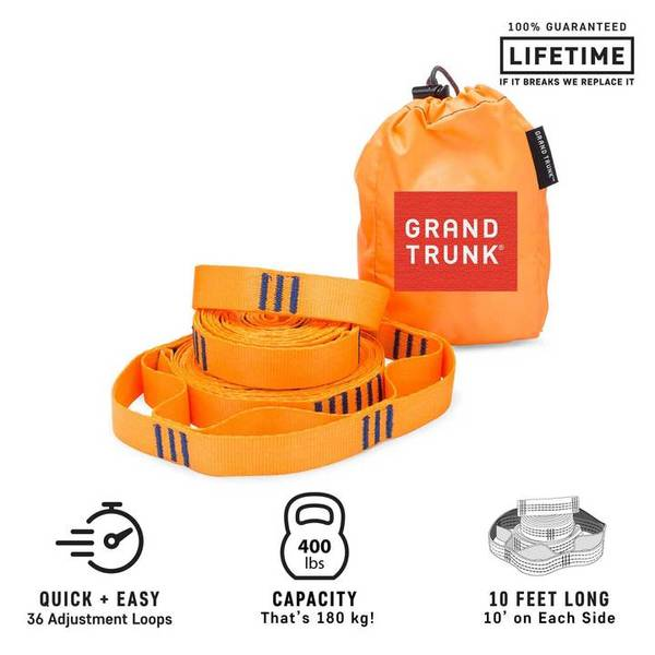 Bilde av Grand Trunk Trunk Straps-ORANGE Orange