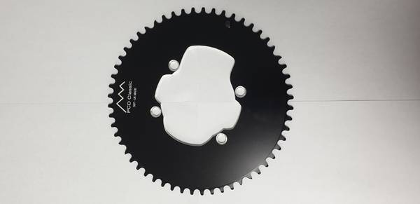Bilde av Aluminium single TT chainrings (narrow-wide)