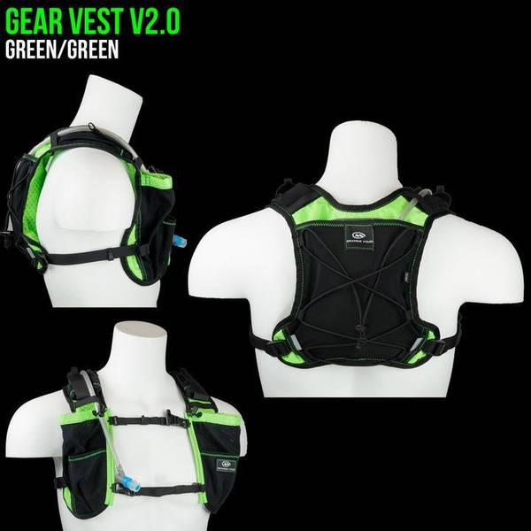 Bilde av Orange Mud Gear Vest 1L black and green - 2.0