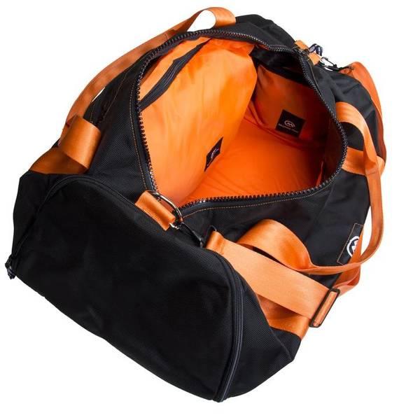 Bilde av Orange Mud Modular Gym Bag Black w/orange web
