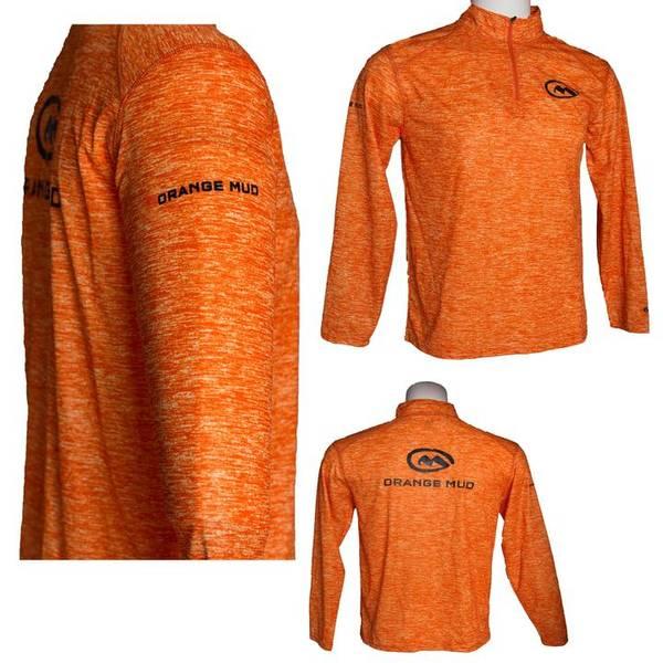 Bilde av Orange Mud Running Performance 1/4 Zip Mens