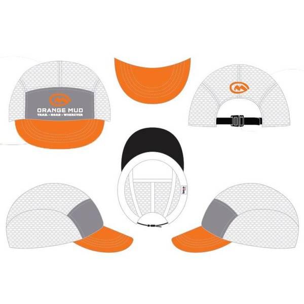 Bilde av Orange Mud The Squishy Hat White/Gray/Orange
