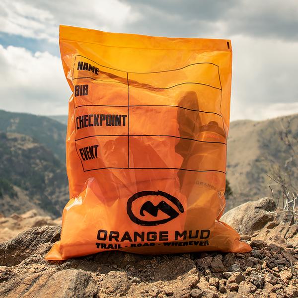 Bilde av Orange Mud Drop Bag Orange Plastic