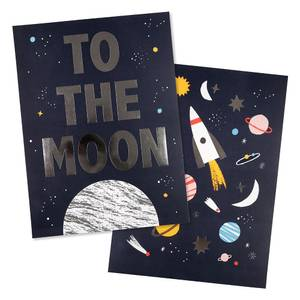 Bilde av Meri Meri Space Poster