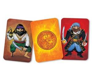 Bilde av DJECO Kortspill Piratatak Bygg Piratskip