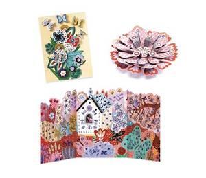 Bilde av DJECO Mega Hobbysett Blomster og dyr