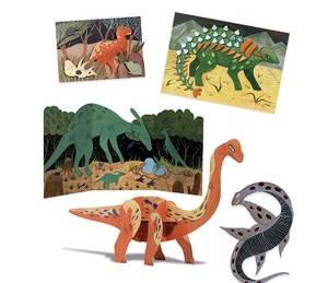 Bilde av DJECO Mega Hobbysett Dinosaurer