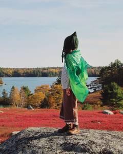 Bilde av SARAH`S SILKS Earth Lekesilke Forest 89cm