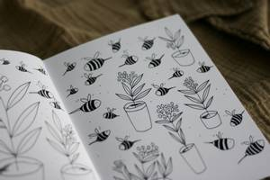 Bilde av Fargeleggingsbok - Spring Verksted