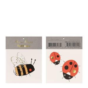 Bilde av Meri Meri Tatoveringer Bee & Ladybird